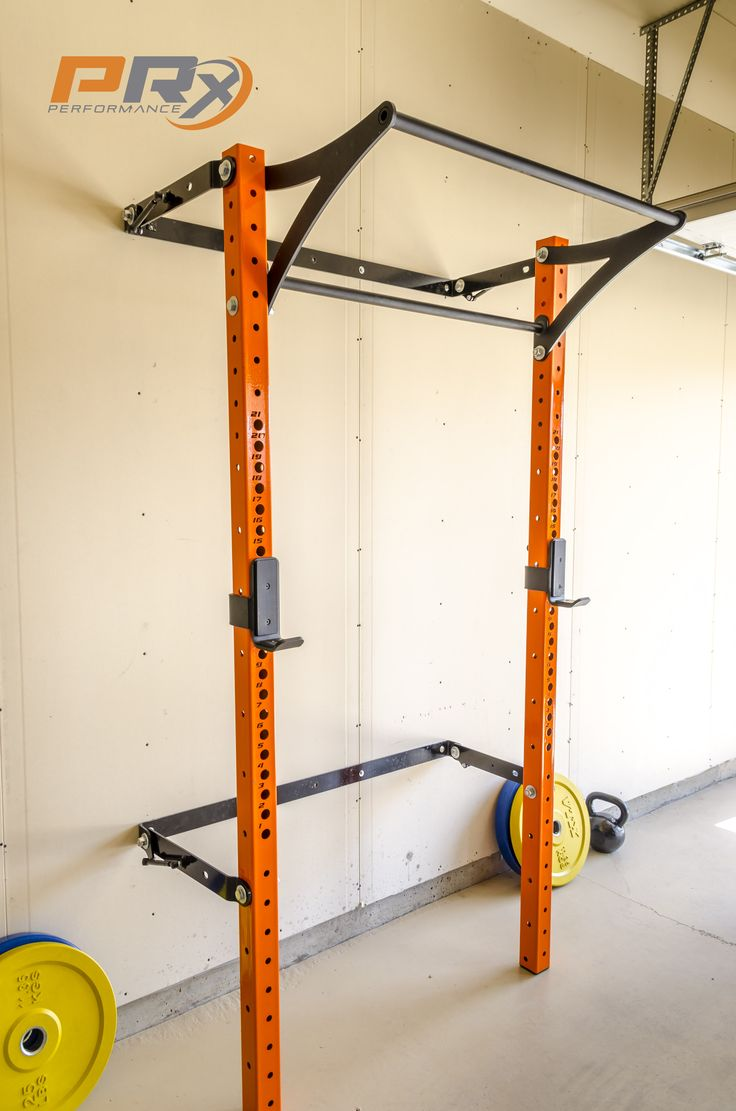 Space saving squat rack prx performance the space saving for Prx performance