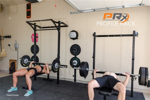 Prx profile rack with kipping pull up bar