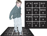 Alpha Numeric Mat - Set of 5 w/ Curriculum