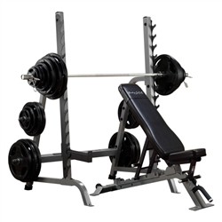 Bodysolid Bench Rack Combo