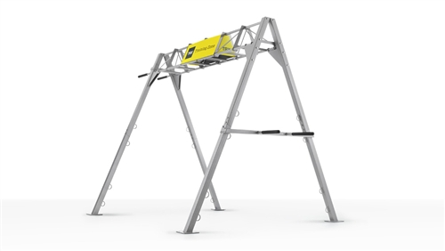 Trx S Frame Elevated With Dip Hammer