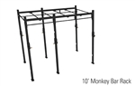 Foot Standing Rack with Monkey Bars