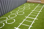 Pavigym Custom Turf 2.0 Hoops-Stairs (2x4,8m 22mm)