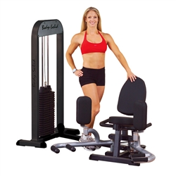 Bodysolid BOS-GIOT-STK/3 Pro Select Inner & Outer Thigh Machine With 310lb. Stack
