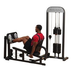 Bodysolid BOS-GLP-STK/3 Pro Select Leg & Calf Press Machine With 310lb. Stack