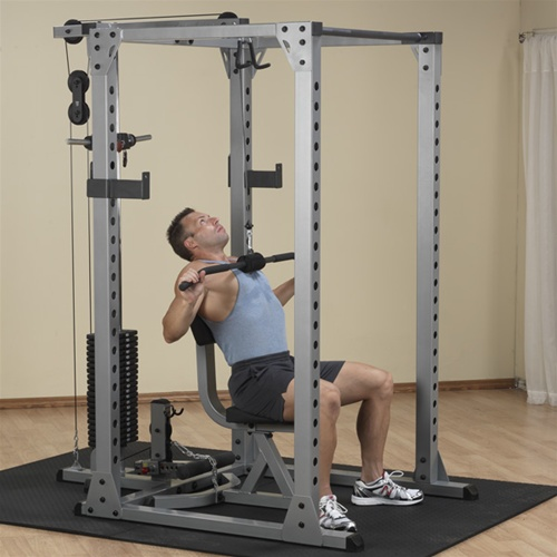 body solid power review rack