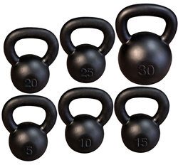 Bodysolid BOS-KBS105 Kettlebell Single Set  5-30 lb.