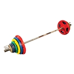 Bodysolid BOS-ORC Colored Rubber Grip Olympic Sets