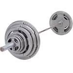 Bodysolid Steel Grip Olympic Sets