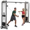 Bodysolid BOS-SCC1200G1 Pro Clubline Cable Crossover with 2-165Lb. Weight Stack