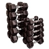Bodysolid Rubber Coated Hex Dumbbell Sets