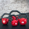 Bodysolid Vinyl Dipped Kettleball Set 5-30lbs