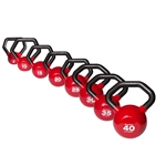 Bodysolid Vinyl Dipped Kettleball Set 5-40lbs