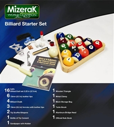 Mizerak Billiard Starter Set