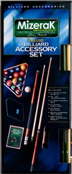 Mizerak Deluxe Billiard Accessory Kit