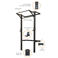 3x3 Profile Rack PRO with Kipping Bar