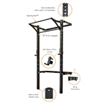 PRX Pro 3x3 Profile Rack PRO with Kipping Bar