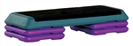 The Step Original Health Club Step Teal/Purple