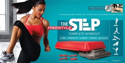 The Step The Freestyle Step (Red Circuit Size)