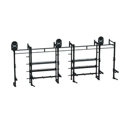 24 X 4 Storage Wall Mount Rack – A1 Package